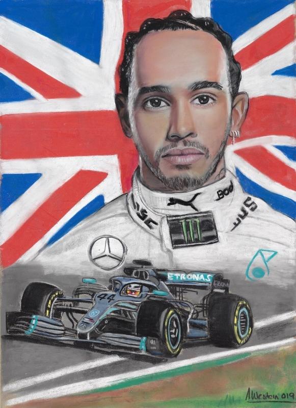 Lewis Hamilton by western61